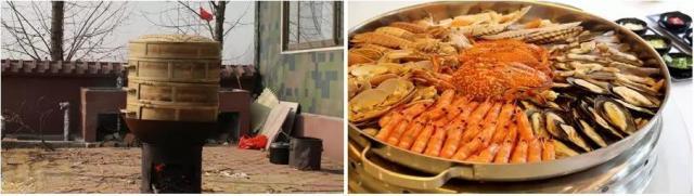 1.海天盛宴,是本次夏令营为孩子们特别准备的特色美食,用最传统的做法,架起大锅,烧起柴火,把海鲜放在蒸笼里,做出原汁原味的海鲜盛宴。