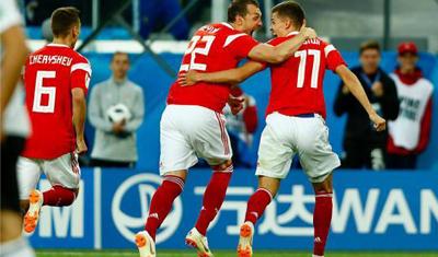 国际足联:俄罗斯队药检呈阴性 未使用过兴奋剂