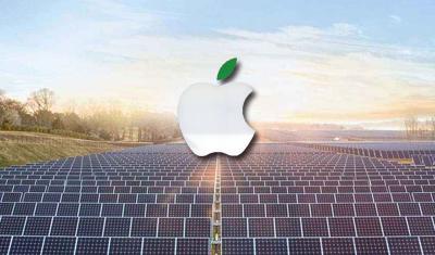 Apple 在中国推出全新清洁能源基金