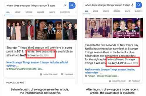 """Google搜索会更新""""精选摘要""""算法"""