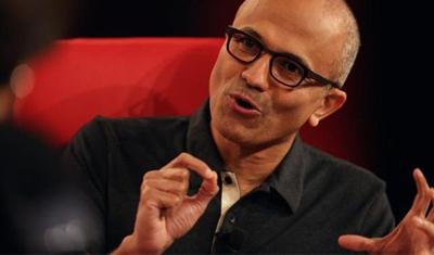 微软CEO纳德拉:消费者数据是零售商最宝贵的资产