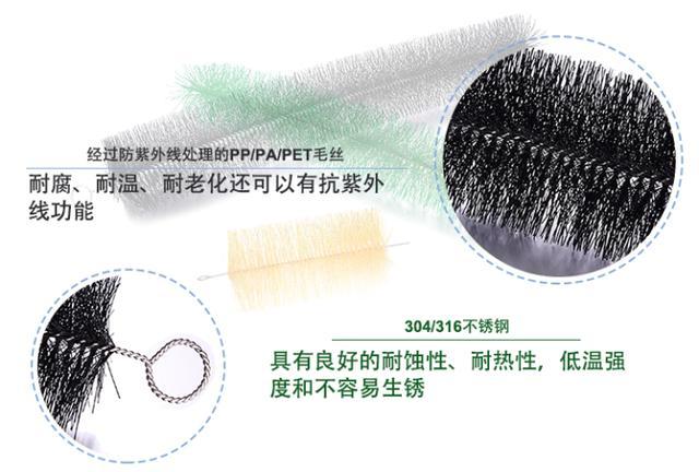 你的过滤毛刷能用压缩包装吗?不一定能行!【傲群毛刷厂】